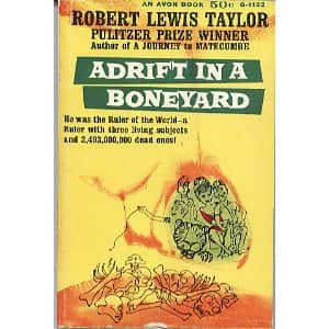 Adrift in a Boneyard - Robert Lewis Taylor cover