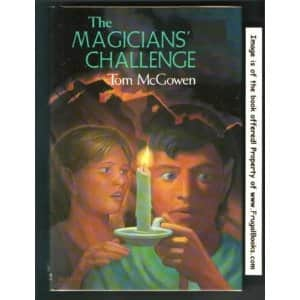 The Magicians' Challenge  - Tom McGowen cover