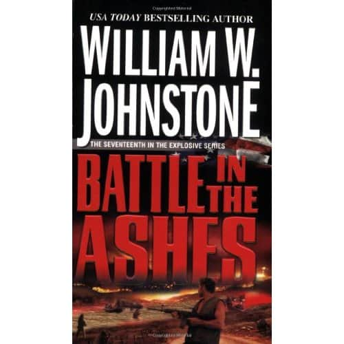 Battle in the Ashes - William W. Johnstone cover