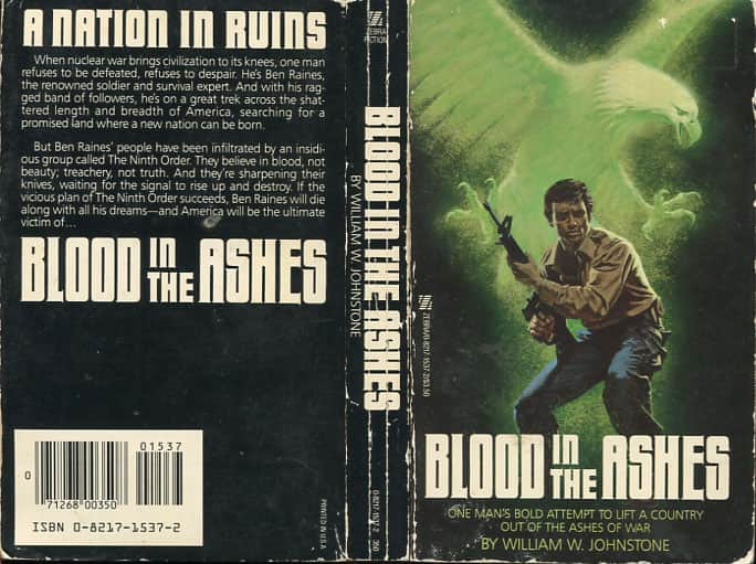 Blood in the Ashes - William W. Johnstone cover