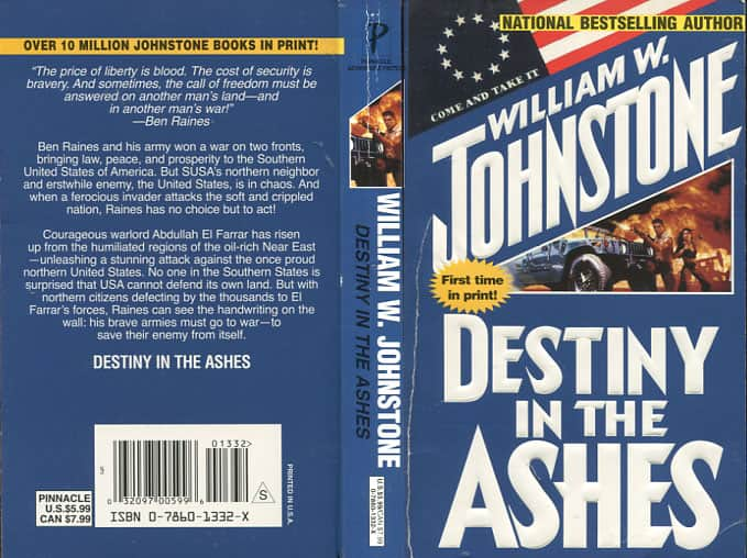 Destiny in the Ashes - William W. Johnstone cover
