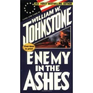 Enemy in the Ashes - William W. Johnstone cover