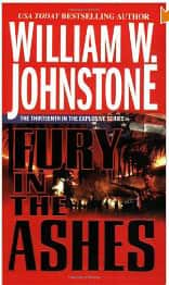 Fury in the Ashes - William W. Johnstone cover
