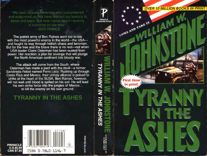 Tyranny in the Ashes - William W. Johnstone cover
