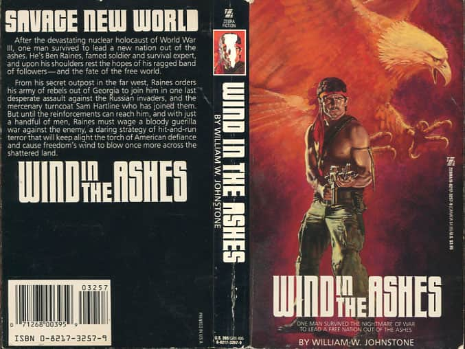 Wind in the Ashes - William W. Johnstone cover