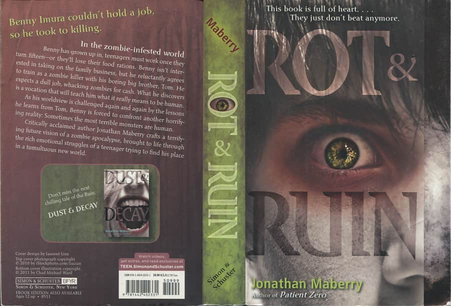 Rot & Ruin - Jonathan Maberry cover