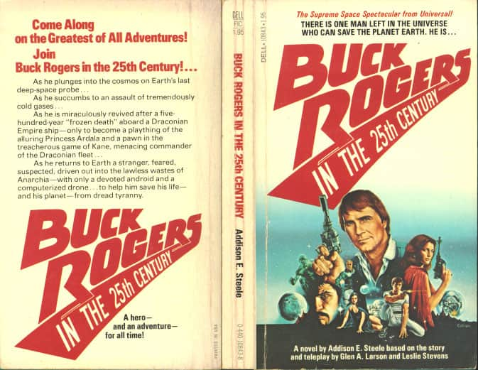 Buck Rogers In the 25th Century - Addison E. Steele cover