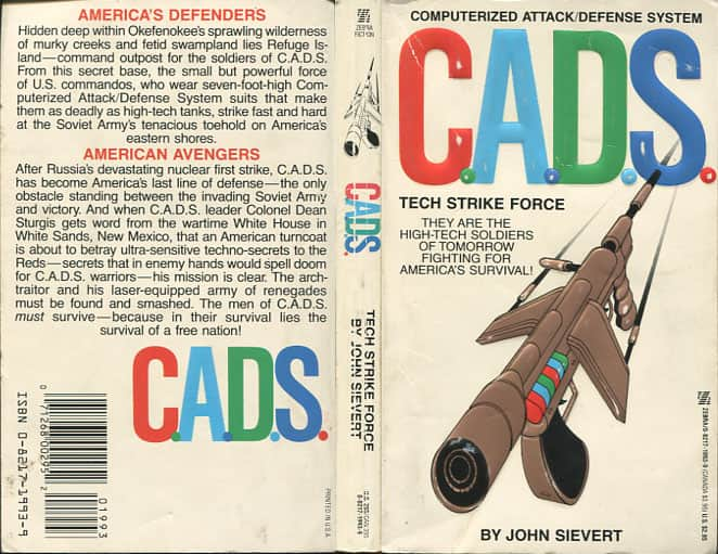Tech Strike Force - John Sievert cover