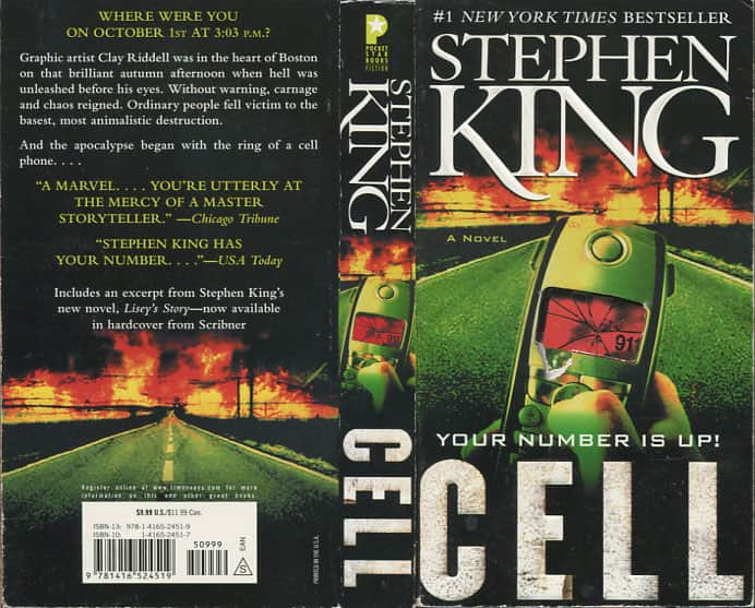 Cell - Stephen King cover