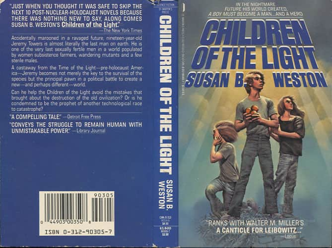 Children of the Light - Susan B. Weston cover