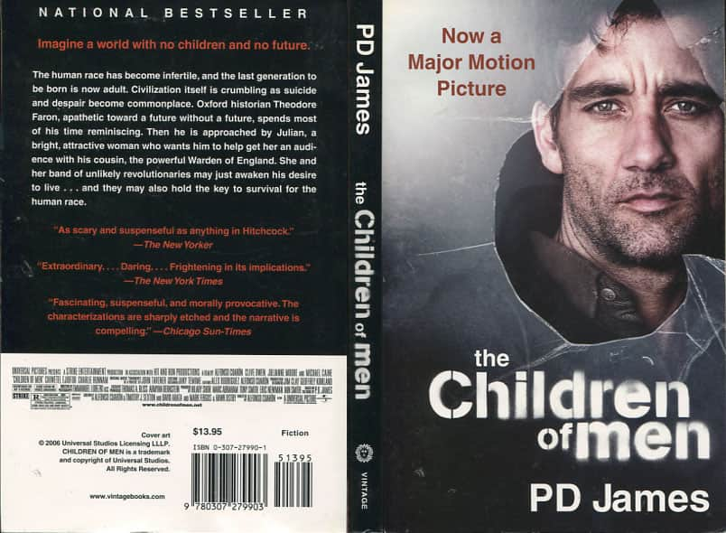 The Children of Men  - P. D. James cover