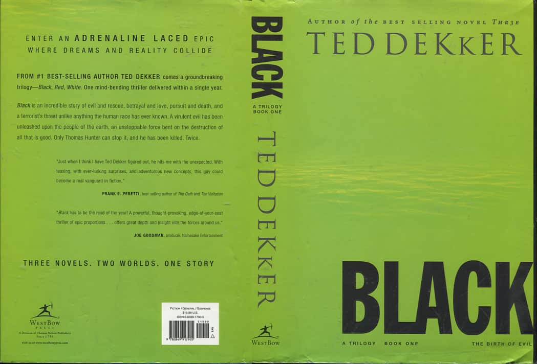 Black - Ted Dekker cover