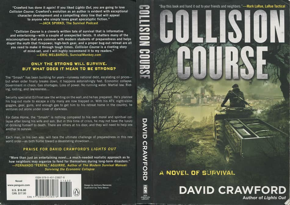 Collision Course - David Crawford cover