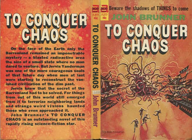 To Conquer Chaos - John Brunner cover