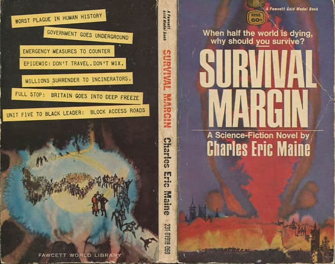 Darkest of Nights  The/Survival Margin - Charles Eric Maine cover