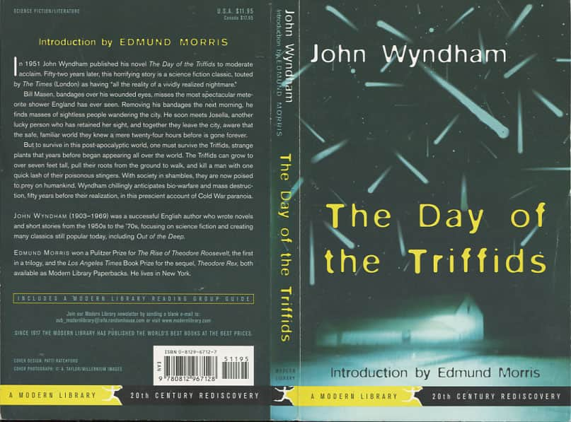 The Day of the Triffids  - John Wyndham cover