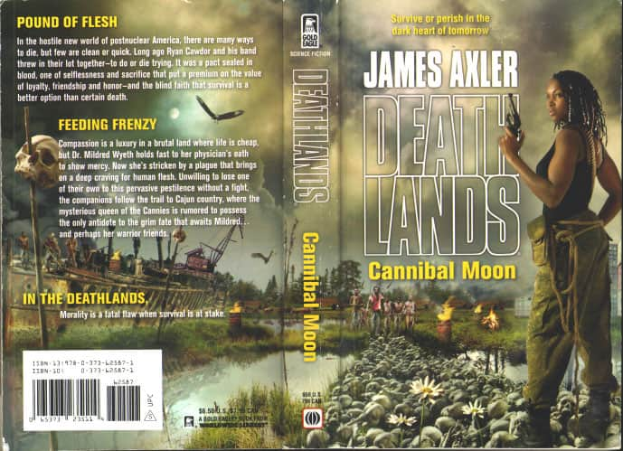Cannibal Moon - James Axler cover