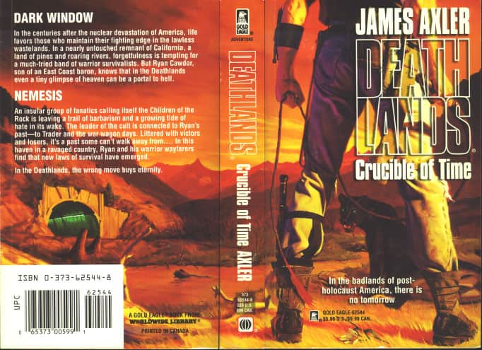 Crucible of Time - James Axler cover