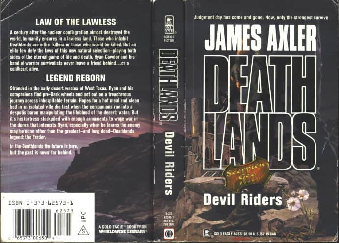 Devil Riders - James Axler cover