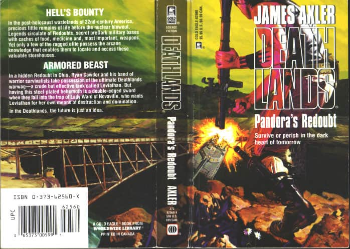 Pandora's Redoubt - James Axler cover