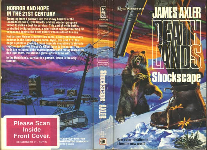Shockscape - James Axler cover