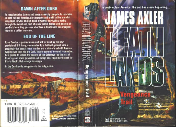 Vengeance Trail - James Axler cover
