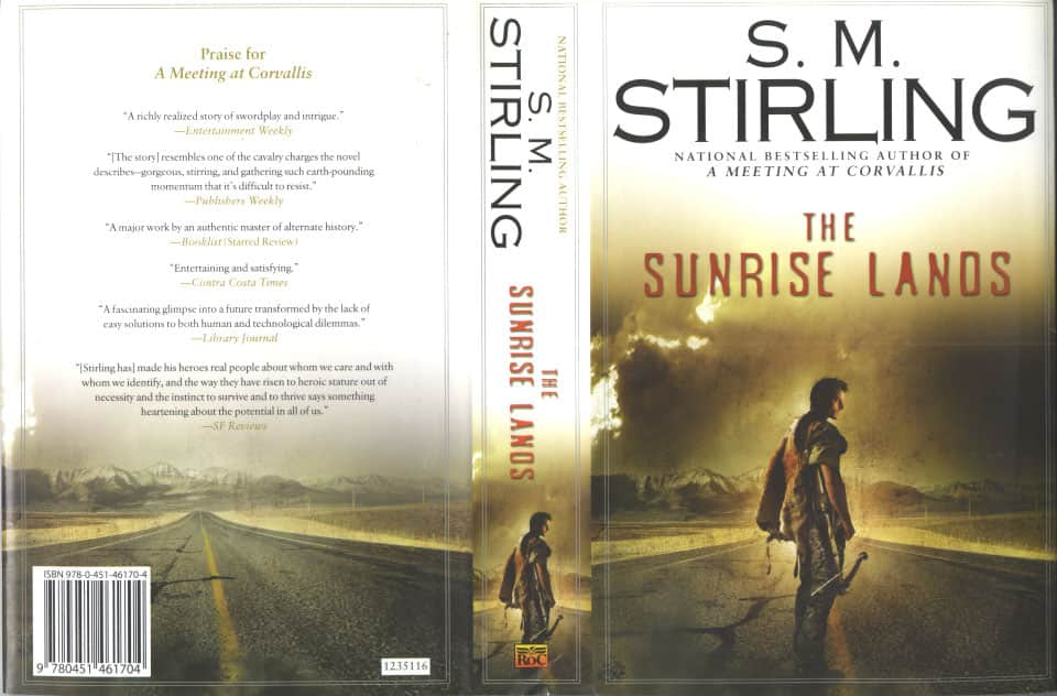 The Sunrise Lands  - S. M. Stirling cover