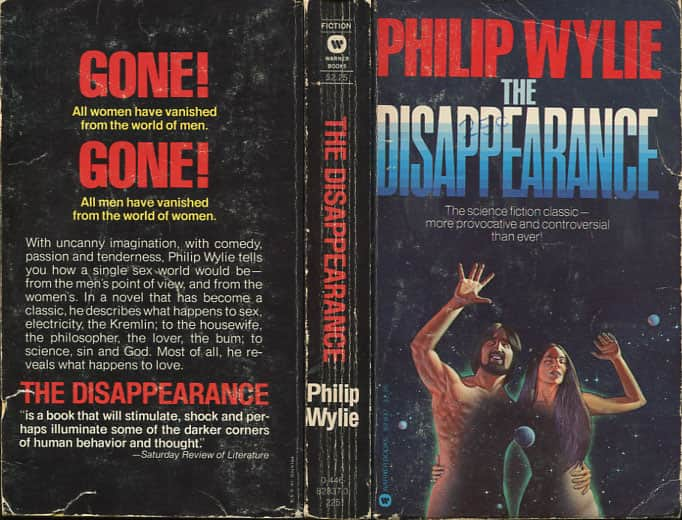The Disappearance  - Philip Wylie cover