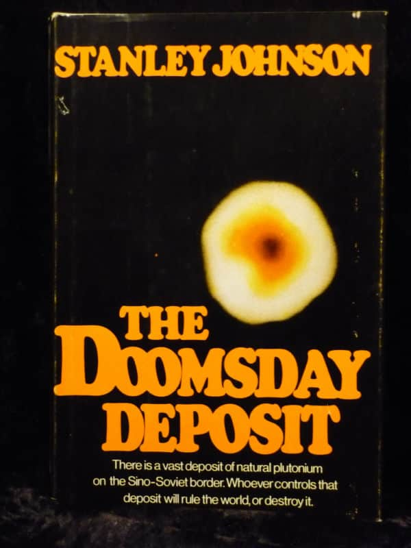 The Doomsday Deposit  - Stanley Johnson cover