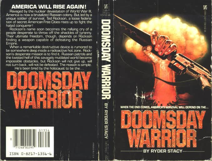Doomsday Warrior - Ryder Stacy / Jan Stacy cover