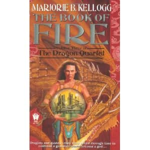 The Book of Fire  - Marjorie Bradley Kellogg cover