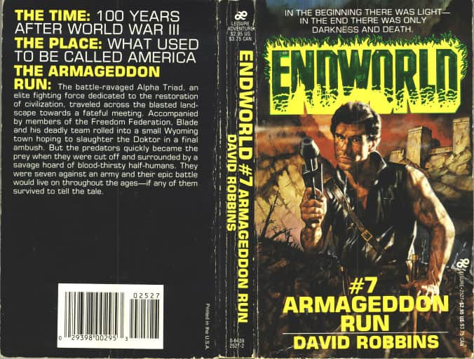 Armageddon Run - David Robbins cover