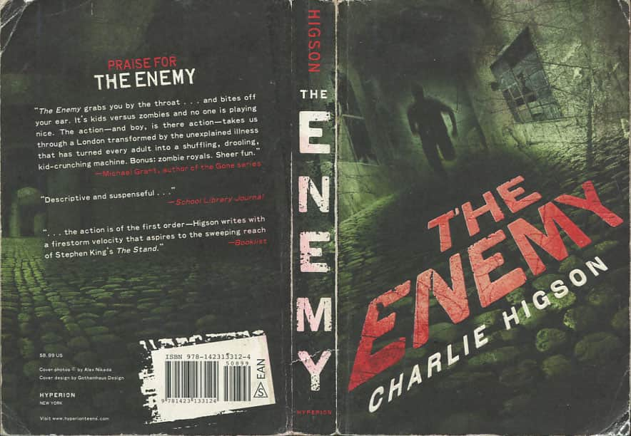 The Enemy  - Charlie Higson cover
