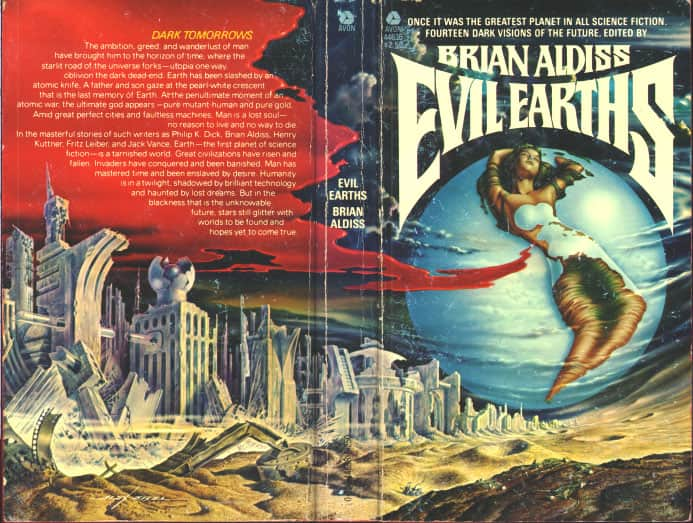 Evil Earths - Anthology / Brian Aldiss cover