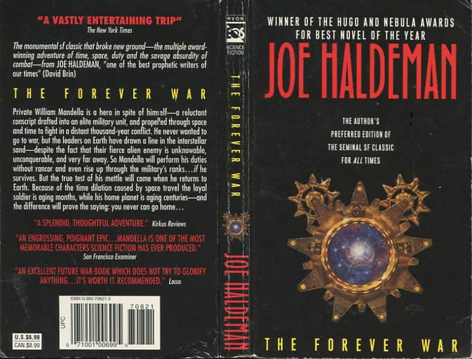 The Forever War  - Joe Haldeman cover