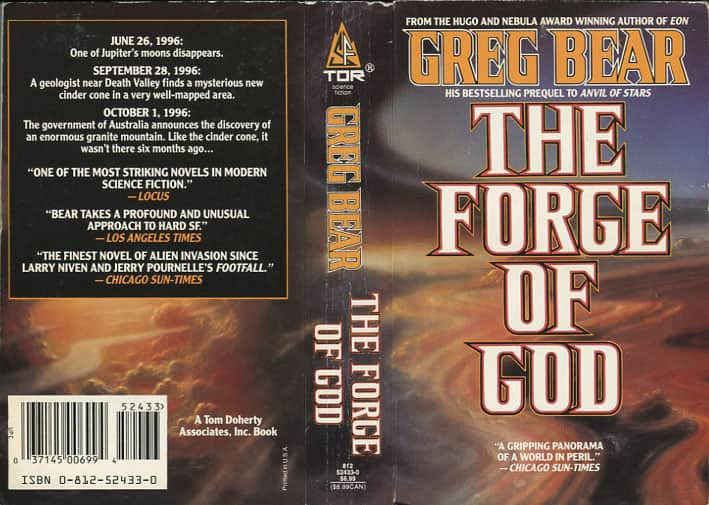 The Forge of God  - Greg Bear cover