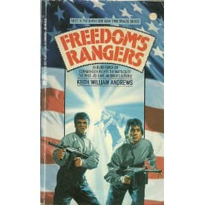 Freedom's Rangers - Keith William Andrews cover