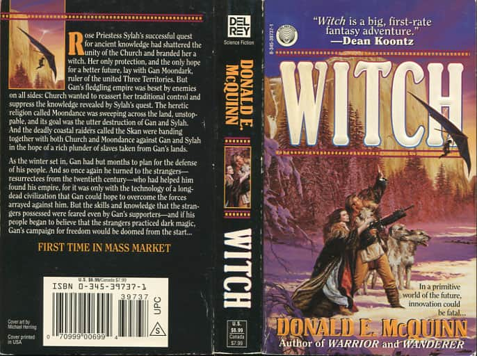 Witch - Donald E. McQuinn cover