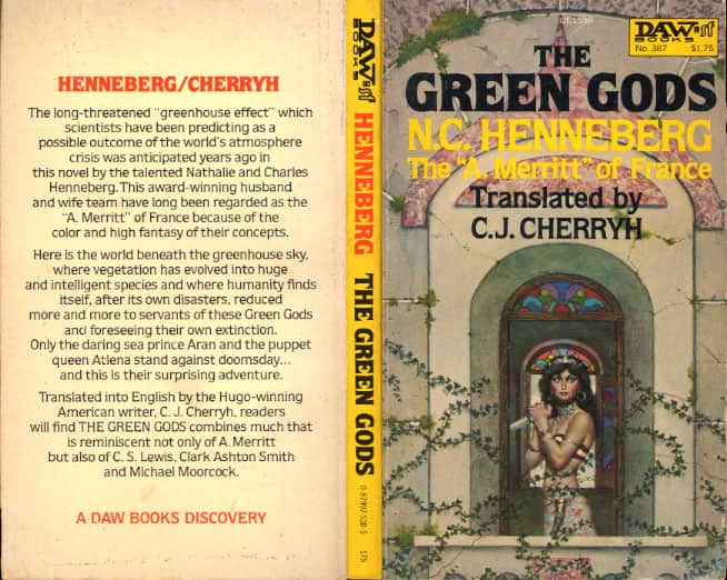The Green Gods  - C J Cherryh cover
