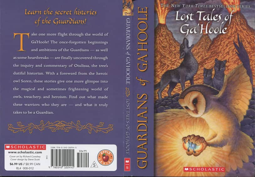 Lost Tales of Ga'Hoole - Kathryn Lasky cover
