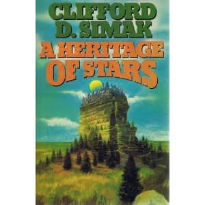 A Heritage of Stars  - Clifford D. Simak cover