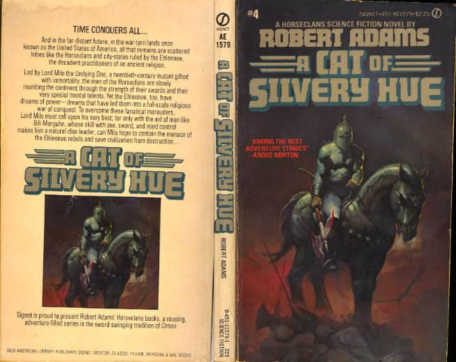 A Cat of Silvery Hue  - Robert Adams cover