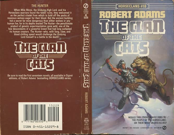 The Clan of the Cats  - Robert Adams cover