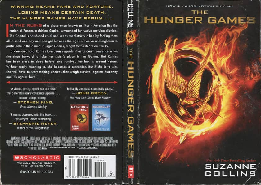 The Hunger Games  - Suzanne Collins cover