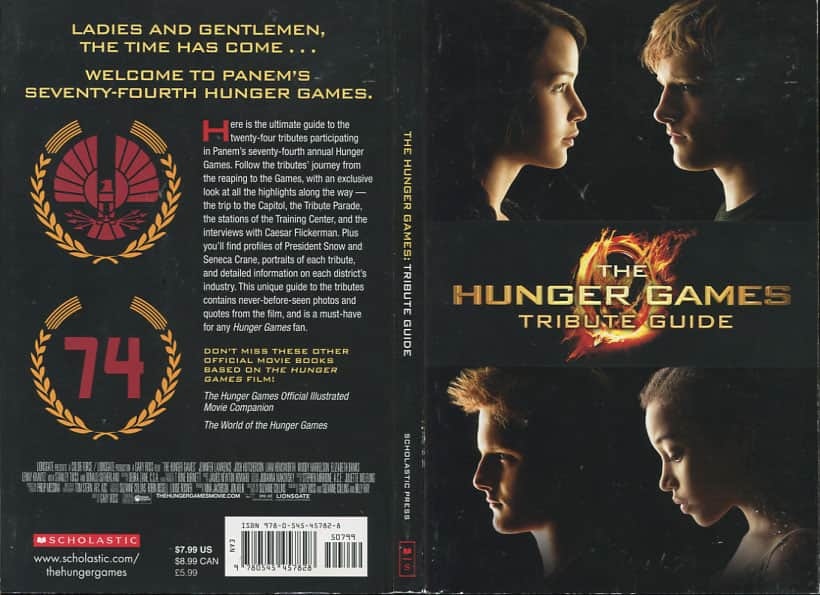 The Hunger Games Tribute Guide  - Emily Seife cover