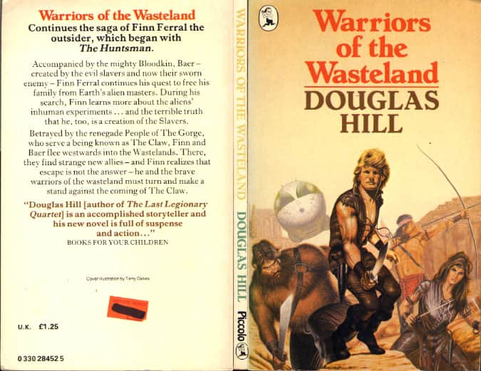 Warriors of the Wasteland - Douglas Hill cover