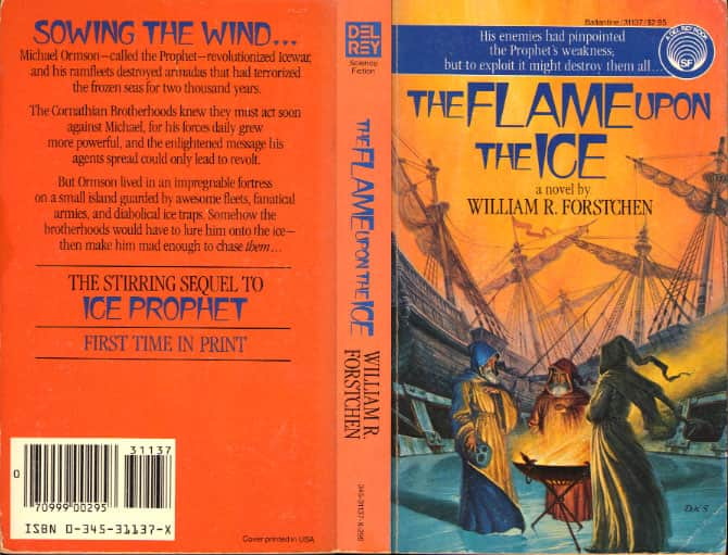 The Flame Upon the Ice  - William R. Forstchen cover