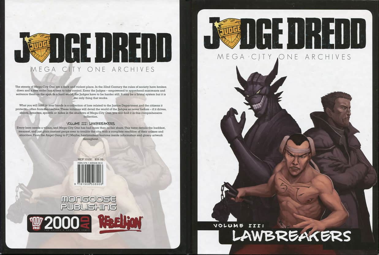 Volume III: Lawbreakers - August Hahn cover