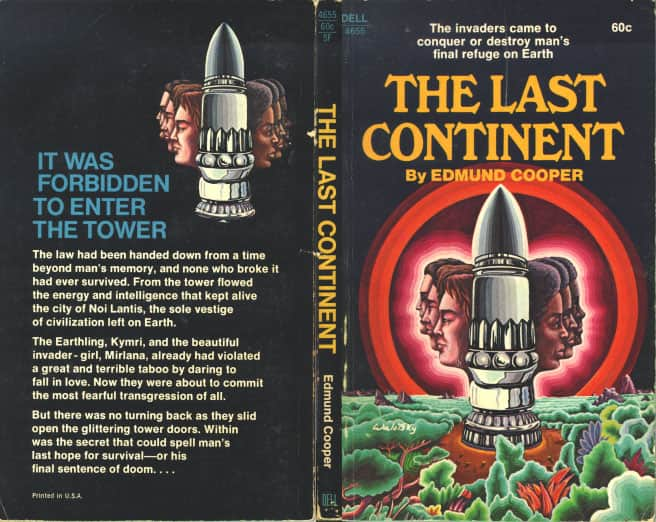 The Last Continent  - Edmund Cooper cover