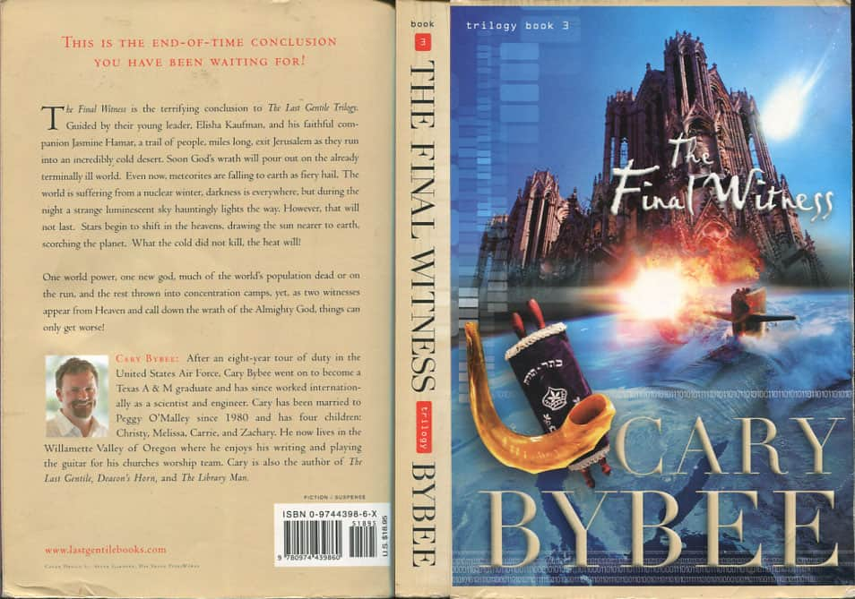 The Final Witness  - Cary Bybee cover